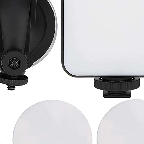 Yuyanshop W64 Video Conference Fill Light, LED Selfie Live Broadcast Portable Camera Light, Brillo Ajustable, Carga por Cable USB, para transmisiones en vivo, reuniones, etc.