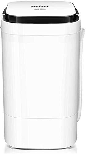 Lavadora portátil Mini Lavadora, pequeña Lavadora semiautomática Limpieza de la Ropa Rotary Roty Washer Detachable Magic Box 4.5kg / 9.9 lbs Lavado Capacidad for Apartamentos Camping (Color : Black)