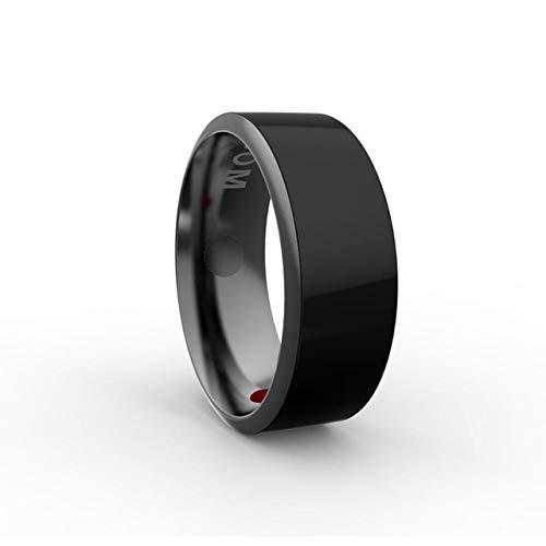 CZX R3 Smart-Ring Wear magischer Finger 3.e Generation NFC Ring IC ID-Karte Kompatibel mit Android Windows-NFC Phone wasserdichtem intelligentem Ring,Size 7