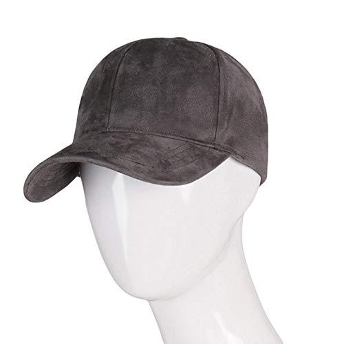 Mode Snapback Baseball Cap Frauen Gorra Cap Street Hip Hop Caps Hüte für Damen Schwarz Grau Baseball Cap-drak Gray