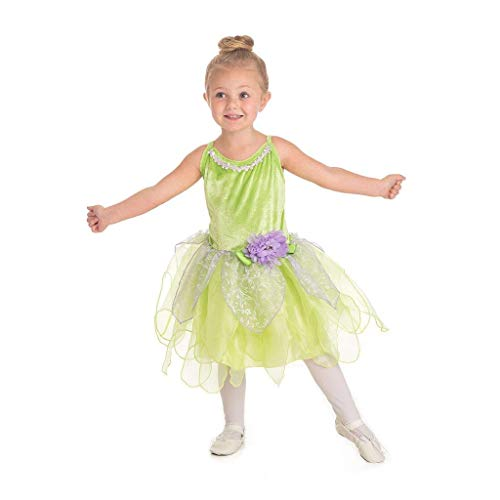 Little Adventures Tinkerbell Fairy Girls costume–Small (1–3anni)
