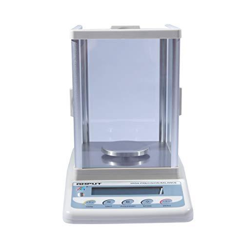 LYC Hoge precisie 0,001 G elektronische weegschaal laboratorium balans met LCD-scherm en voorruit voor gouden juwelen wegen