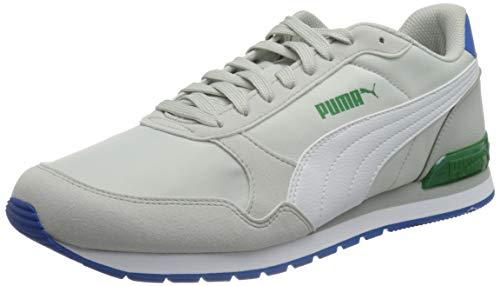 PUMA Unisex St Runner V2 Nl Sneaker, Grau Violett Weiß Amazon Grün Royal, 41 EU