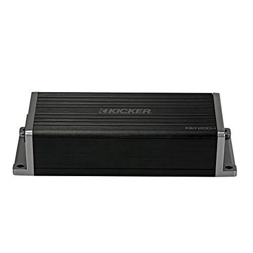 Kicker 47KEY2004 Car Audio Smart DSP 4 Channel Speaker Amplifier 40 Band EQ Amp