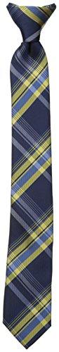 Dockers Big Boys' Plaid Clip On Tie, Yellow, One Size