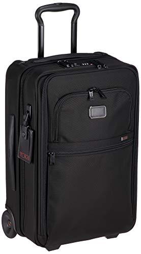[トゥミ] スーツケース ソフト 公式 正規品 TUMI Alpha 3 インターナショナル・エクスパンダブル・2ウィール・キャリーオン 機内持ち込み可 保証付 45L 56 cm 9.7kg Black