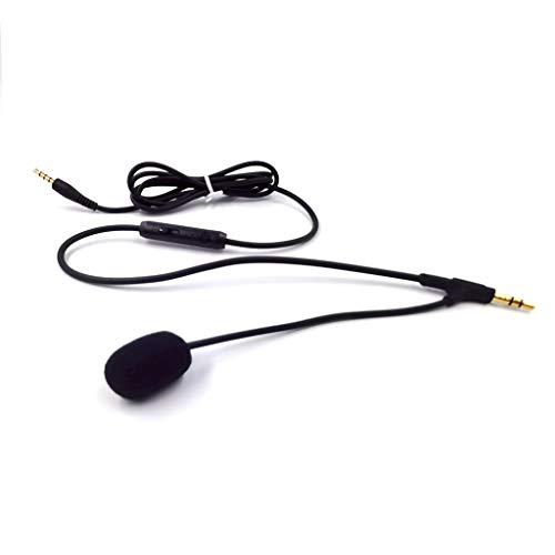LEXIANG Cable para Auriculares VoIP de 3,5 mm con micrófono para Auriculares...