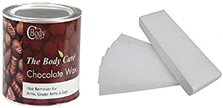 BODYCARE Hot Chocolate Wax with 30 Waxing Strips (600 g)