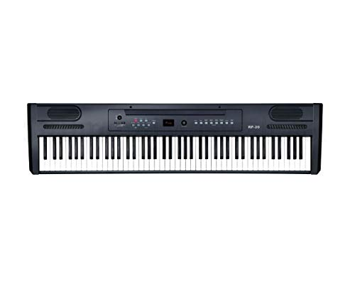 Ringway RP20 - Piano, pantalla LED, 8 voces, 143 x 515 x 310 mm