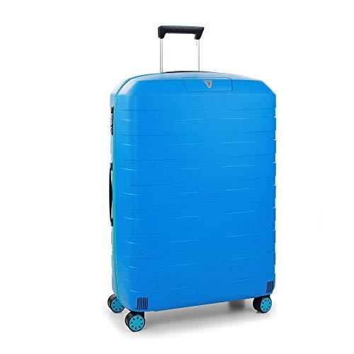 Roncato Box Young Maleta Grande Azul, Medida: 78 x 50 x 30 cm, Capacidad: 118 l, Pesas: 3.60 kg