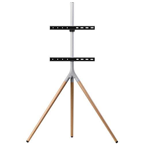 "Soporte de televisor universal tipo trípode One For All – Pantallas de tamaño 32-65""- LCD/LED/Plasma/OLED/QLED TVs – 360° de giro y altura ajustable – VESA 400x400 – Diseño elegante - WM7472"