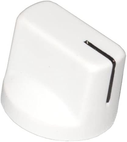 DIYPedalGearParts® 3 x Knob Davies clone 1510 White, stomp box, pedal effect