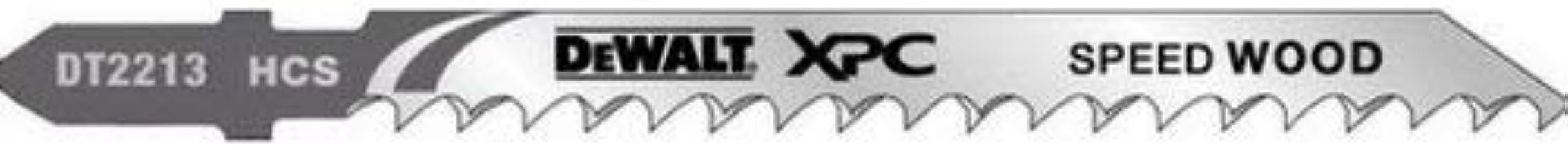 Dewalt DT2220-QZ - Hojas de sierra de calar XPC 100 EXTREME corte rapido madera, aglomerado y mdf hasta 60mm paso 4mm