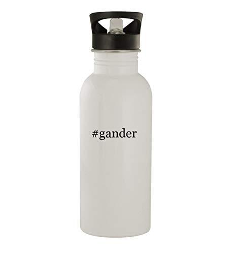 #gander - 20oz Stainless Steel Hashtag Outdoor Water Bottle, White