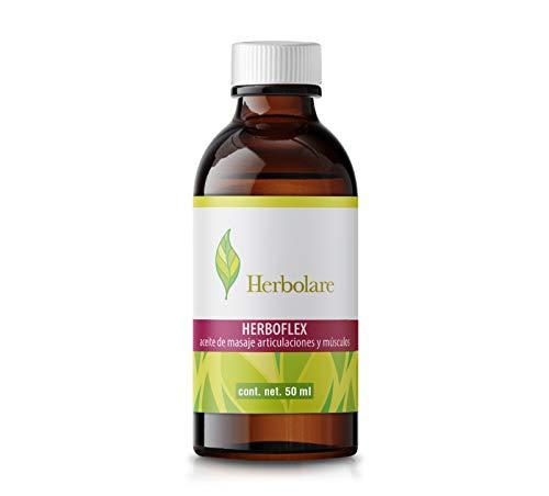 Herboflex aceite de masaje para músculos y articulaciones. Con aceites esenciales 100% puros.