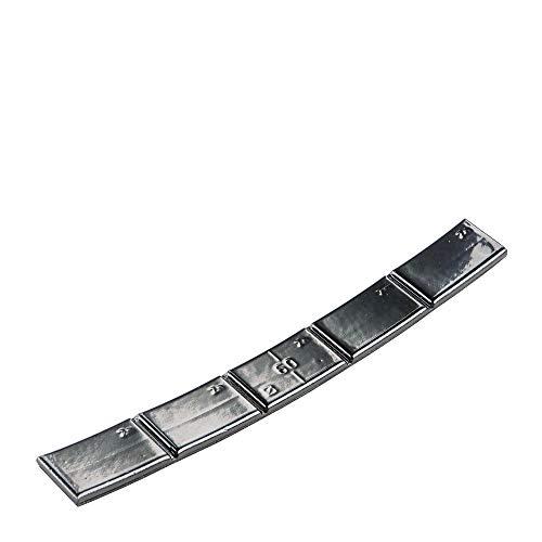 Hofmann Power Weight 50x Poids d'équilibrage Autocollants Noirs 60g Poids d'équilibrage Autocollants Jantes en Alliage léger