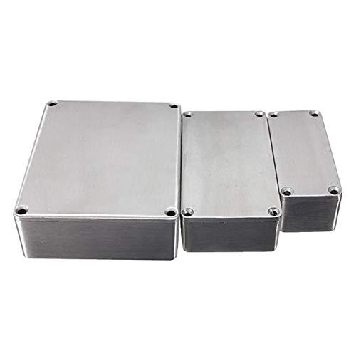 Vogueing Tool Wasserdichte Elektronik-Projektbox für externe Gehäusestrome, für den Außenbereich, Druckguss-Aluminiumgehäuse, 1 Stück, 1032L 254 x 71 x 52,5 mm