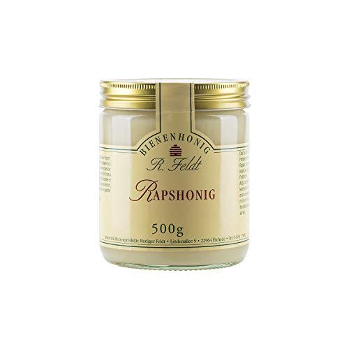 Raps Honig, weiß-hellgelb, mild aromatisch, streichzart, 500g