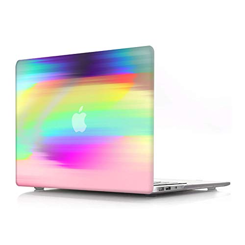 ACJYX MacBook Air 11 Inch Case Model A1370 A1465 Smooth Soft Touch Matte Print Pattern Coated Plastic Hard Protective Shell Case Cover Only Compatible with Laptop Mac Air 11', Colorful Mist