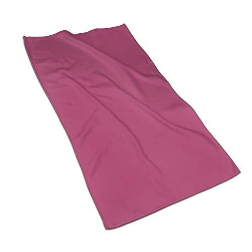 Toalla de mano de secado rápido, color sólido, suave, súper absorbente, tamaño mediano, 27.5 x 17.5 pulgadas