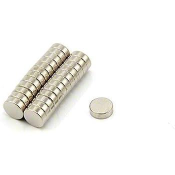 50/x 10/x 8,5/mm first4magnets Ferrit Pot Magnet mit 15,8/kg Pull Silber