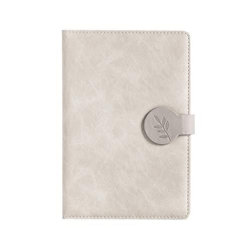 Cuaderno clásico Revistas Cuadernos Cuaderno en Blanco, clásico, Universidad Papel gobernado del Cuaderno, los Estudiantes se engrosan Sus Cuadernos, 5,7'x8.5 (Color : Light Apricot)