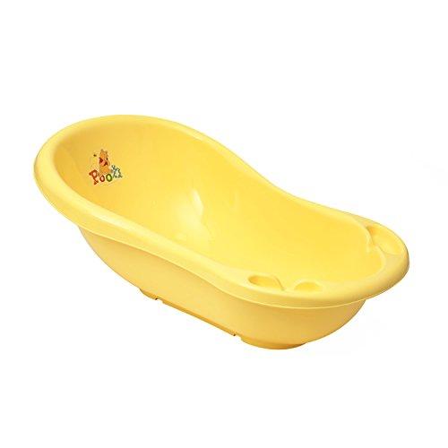 Disney Motiv Babywanne gelb Badewanne L 100 cm Auslaufstöpsel Winnie The Pooh