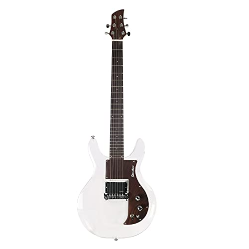 Starshine Acrylic Electric Guitar Dan Armstrong Style Coil Tap Acrylic Solid Body Guitar Rosewood Pickguard (Guitar)
