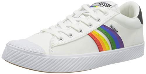 Palladium Herren Plphoenix Prd U Sneaker, Weiß (White/Rainbow U11), 44 EU