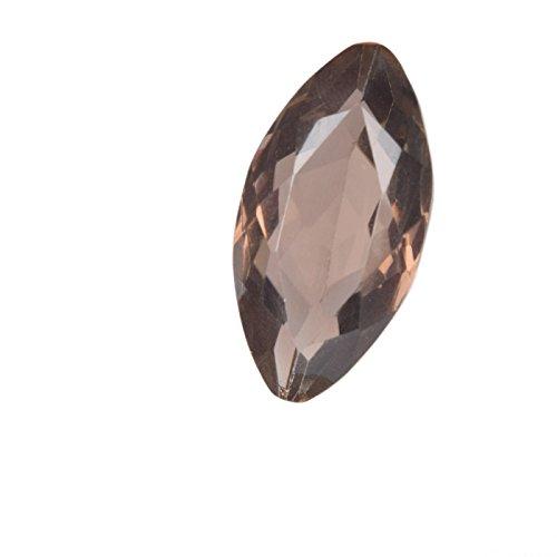 Real Gems Piedra Suelta de topacio Ahumado de Calidad AAA, Forma de marquesa Suprema 15.00 CT. Piedras Preciosas Sueltas Hacer Joyas