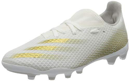 adidas X Ghosted.3 Mg Fußballschuh, Ftwwht/Metgol/Gretwo, 38 EU