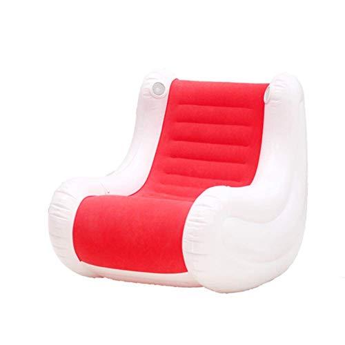 AGQLT opblaasbare muziek bank vrije tijd bank muziek lounge stoel schommelstoel elektrische pomp milieubescherming PVC