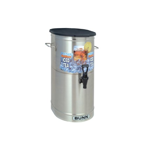 BUNN 4-Gal. Iced Tea/Coffee Dispenser 34100.0002 Grey