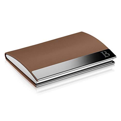 Kartenetui Herren - Visitenkarten Etuis mit praktischem Magnetverschluss - Scheckkartenetui mit Platz für 23 Visitenkarten - LOGAN & BARNES - Modell Cologne