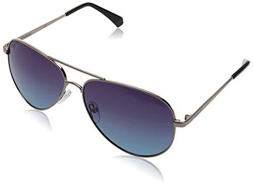 Polaroid PLD 6012/n/new Sunglasses, 6LB/WJ Ruthenium, 56 Unisex-Adult