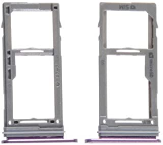 Galaxy S9+ Plus Sim Card Holder Slot Micro SD Card Tray Samsung G965 New Sold by Dougsgadgets (Purple)