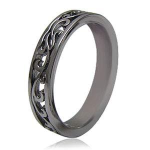 r0578-men-17 [ブランド名:2PIECES] シルバーリング 指輪 メンズ アラベスク (メンズ-17号)