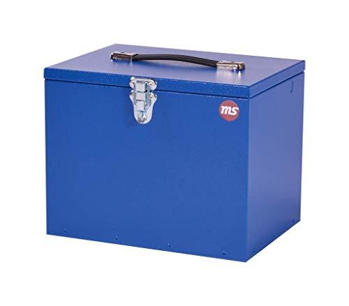 MS Horse I Hochwertige Pferde Putzbox aus Aluminium I strapazierfähig I (Blau)