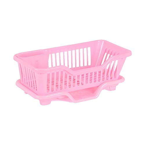 Plastic spoelbak afdruiprek, serviesgoed met hoge capaciteit, bordbeker Creatief droogrek Home Fit voor kom, groente en fruit