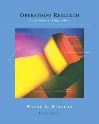 Operations Research : Applications & Algorithms with CD