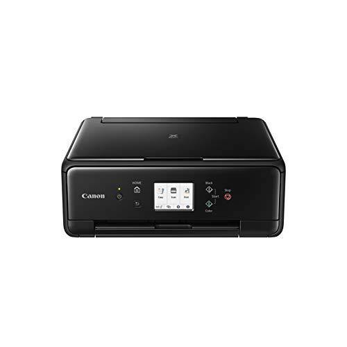 Canon PIXMA TS6250 Drucker Farbtintenstrahl Multifunktionsgerät DIN A4 (Fotodrucker, Scanner, Kopierer, Touchscreen, 4.800 x 1.200 dpi, USB, WLAN, 5 separate Tinten, Duplexdruck), schwarz