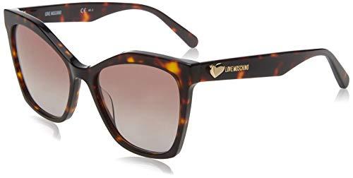 Love Moschino MOL002/S Gafas de sol, Marrón (Dk Havana), 54.0 para Mujer