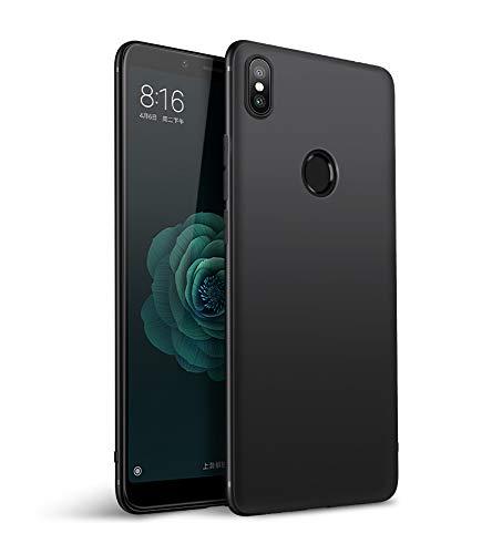 Olliwon Funda Compatible con Xiaomi Mi A2, Slim Silicona TPU Carcasa 360 Cover Case para Xiaomi Mi A2 Nergo