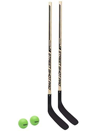 GoSports Hockey Street Sticks - Premium Wooden Hockey Sticks for Street Hockey (Hockey-Street-Sticks-2)