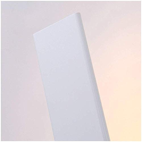YANQING Moderno Lámpara LED Pasillo del Pasillo del Pasillo Dormitorio Moderno Minimalista Dormitorio Den Pared Pared de iluminar su Vida (Color: Negro), Color: Negro (Color : White)