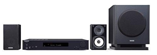 ONKYOシネマパッケージ2.1ch/ハイレゾ音源対応/4K対応/AirPlay対応ブラックBASE-V60(B)【国内正規品】