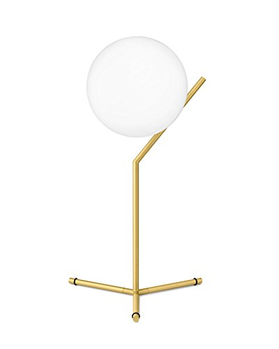 Flos IC T1 High EU OTT, glas, E14, 60 W, messing, 20x53cm