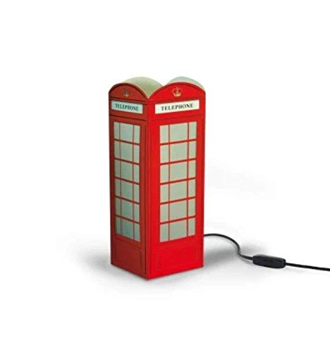 W-Lamp Cabina Telefonica Inglese, Rosso