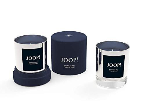 Engels Kerzen GmbH JOOP! Geurkaars in geschenkdoos kleur zilver geur Fresh Cut Rozen Aromakaars fluwelen doos rozengeur