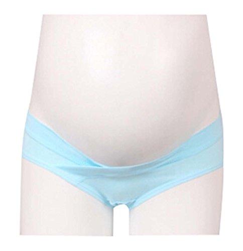 Vêtements pour femmes Sous-vêtements de maternité enceinte Bleu XXL
